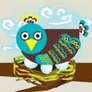 on eggs